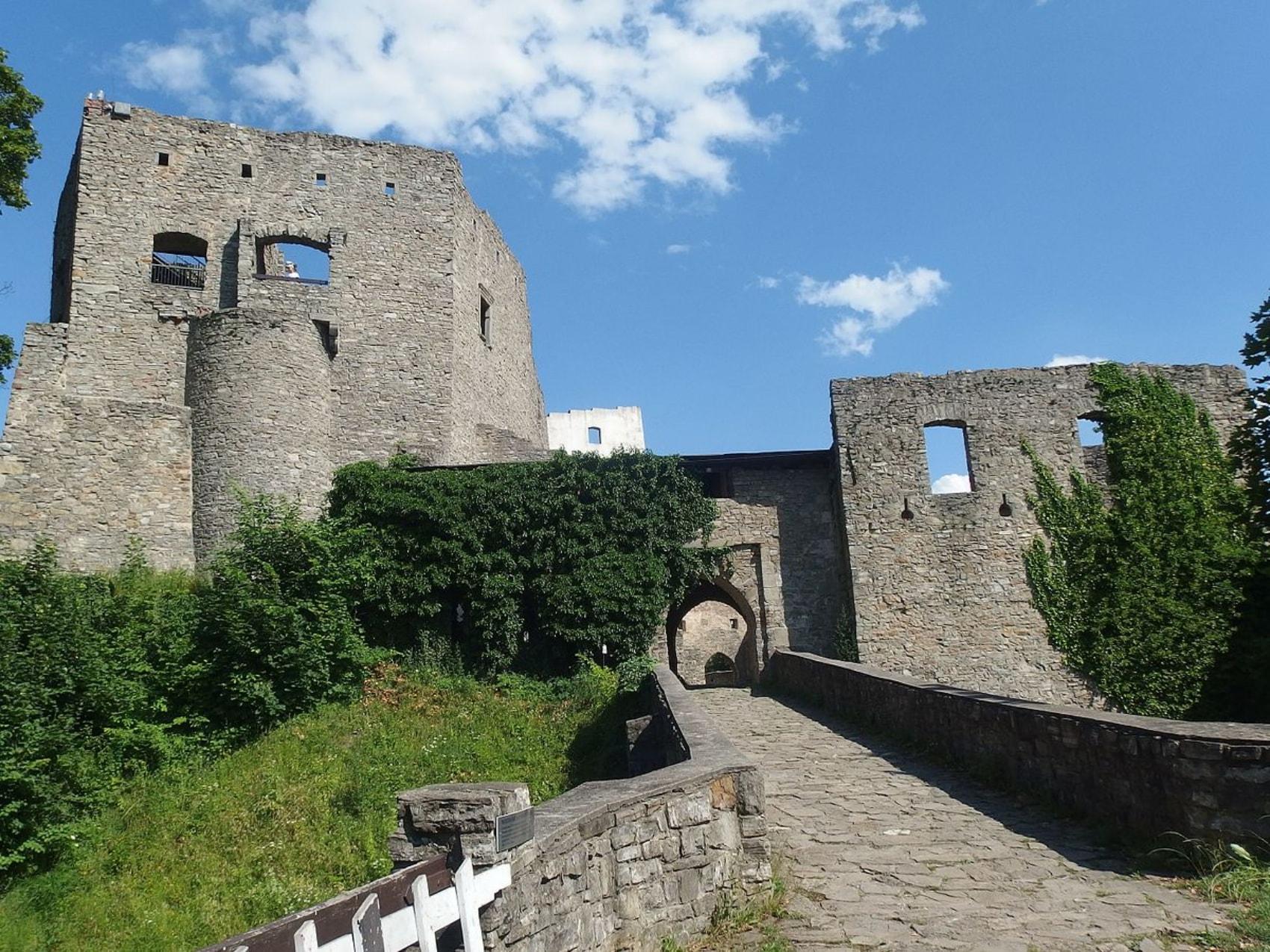 Ruins of Hukvaldy Castle