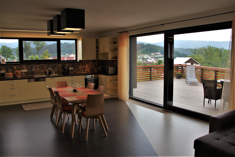 Vnitřní pohled apartmánu